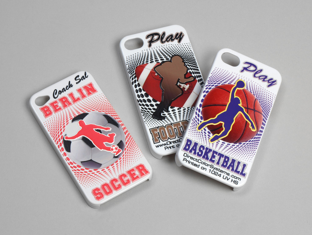 Printing on Cell Phone Cases Digitial Printing - Direct Color Systems