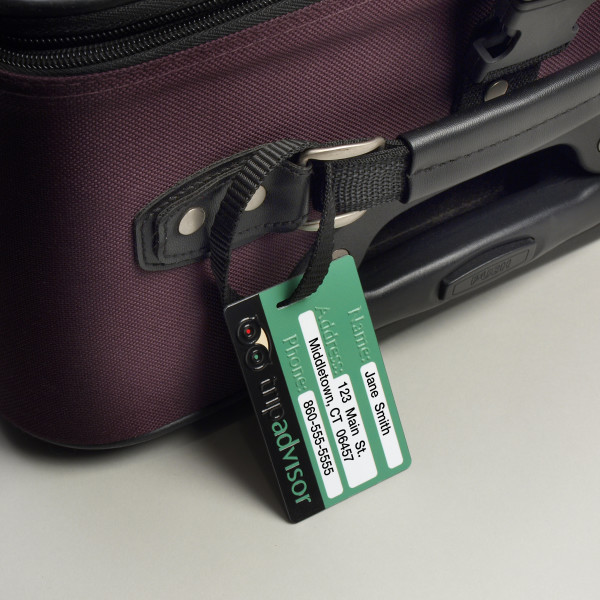 Custom Luggage Tag Printer Imprinted - Direct Color Systems
