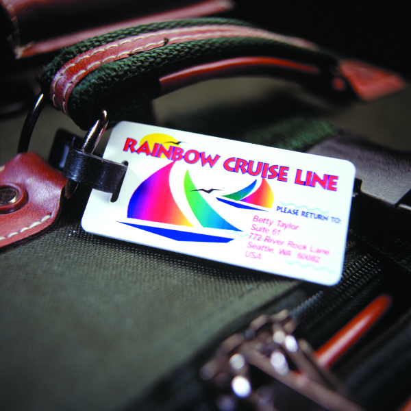Custom Luggage Tag Printer - Direct Color Systems