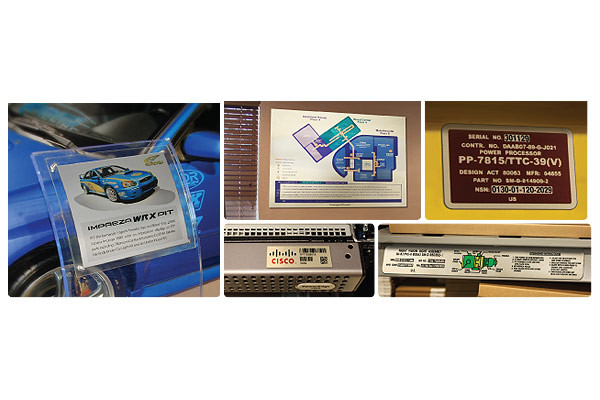 DuraJet Samples Anodized Aluminum Printing - Direct Color Solutions