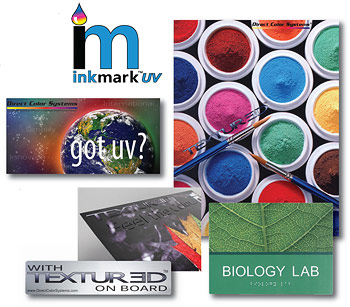 UV LED Printing InkMark™ Metal - Direct Color Systems