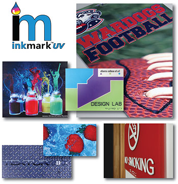 UV LED Printing InkMark™ Plastic - Direct Color Systems