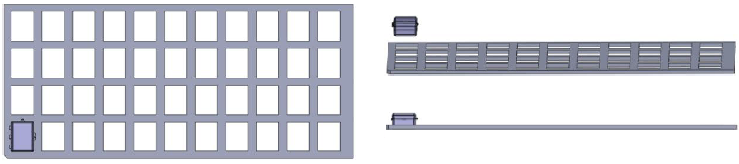 Custom Jig & Fixtures Laser Cut Arcylic Jigs - DCS