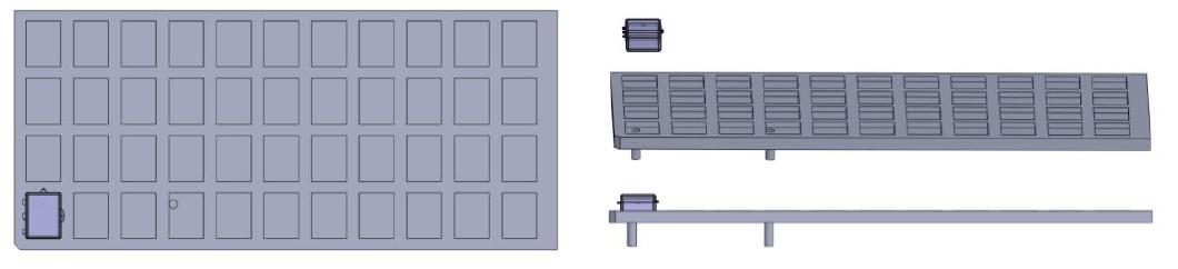 Custom Jig & Fixtures Non-Reflective Machined Jigs - DCS