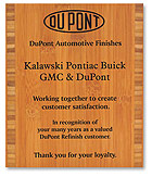 Eco-Friendly Plaques Amber Bamboo Award - DCS
