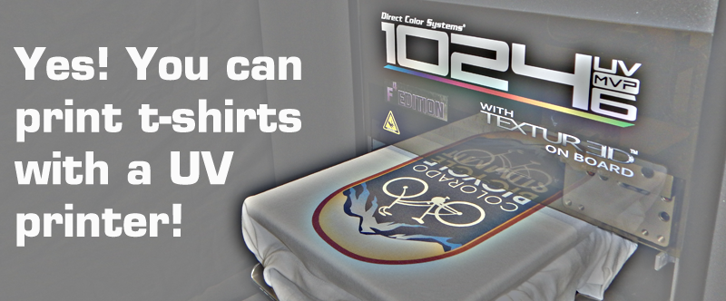 Tee Shirt Printer Uv Led Printers Direct Color Systems