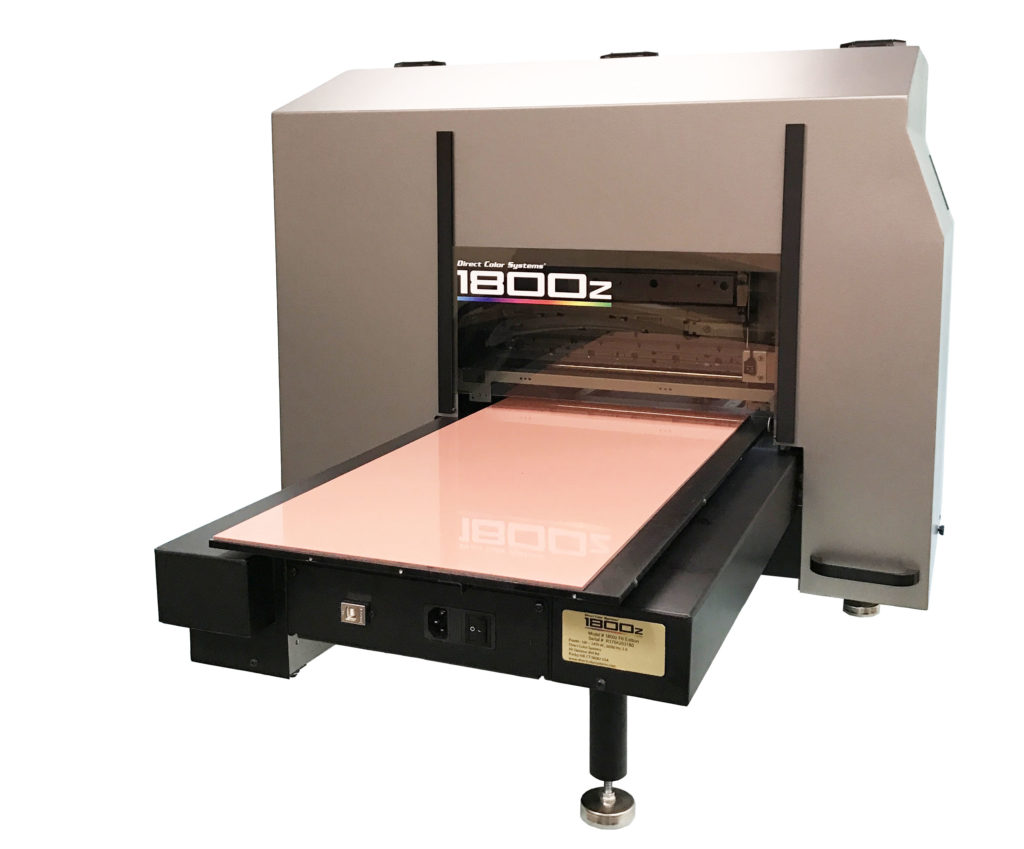 direct to substrate small-format uv led inkjet printers