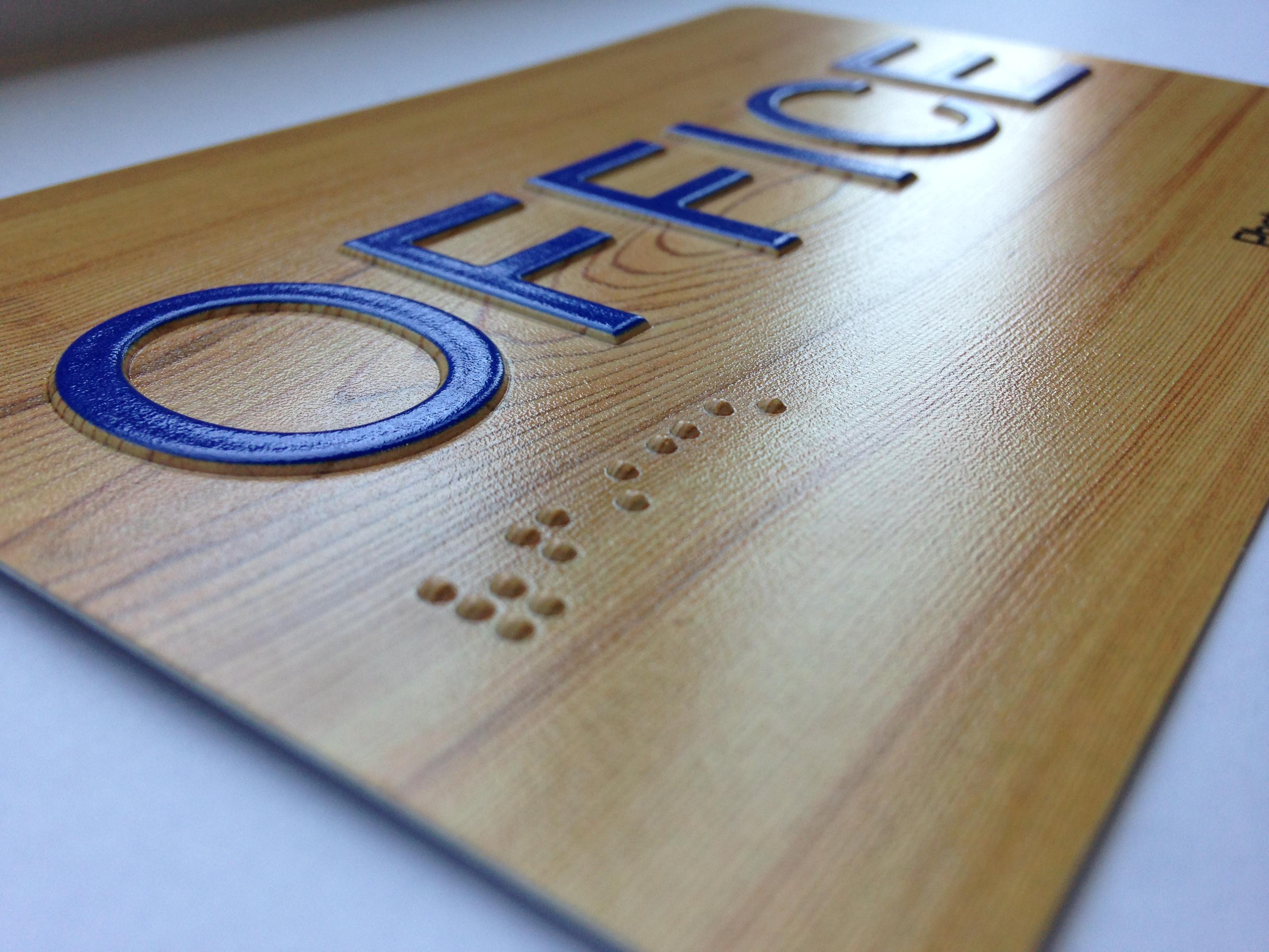 Braille Sign Printer | ADA Braille Signs Machine Manufacturer