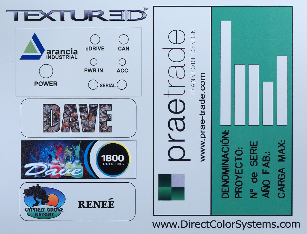 Aluminum Printing - Direct Color Systems