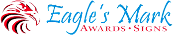 Eagle's Mark Awards & Signs Logo