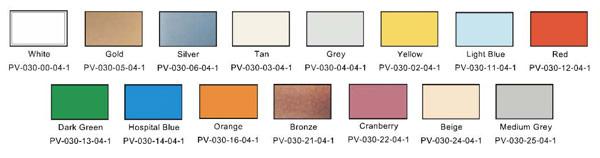 PVC Pre-Cut Badges - Direct Color Systems