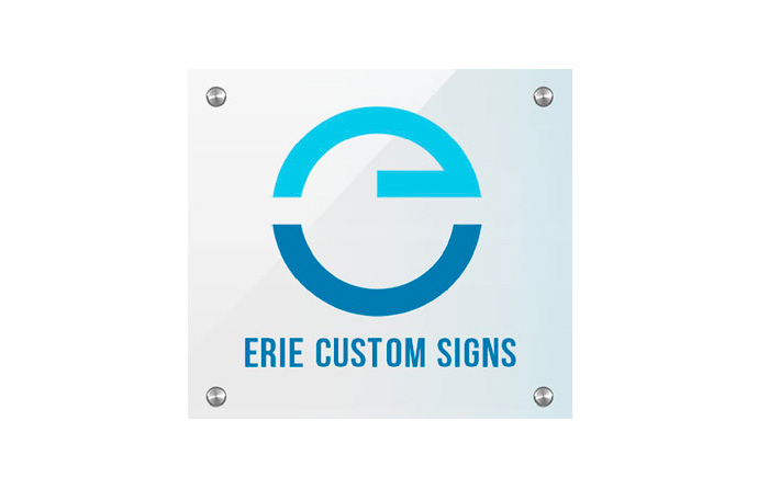 Erie Custom Signs logo