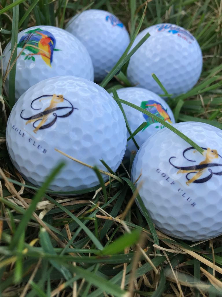 UV printed golf ball