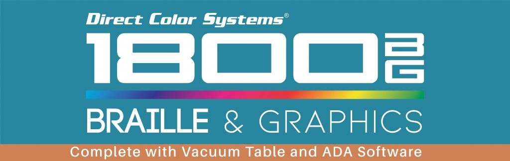 1800 BG Braille and Graphics Printer