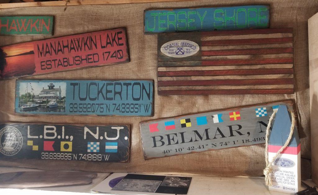 Custom Wood Printed Signs