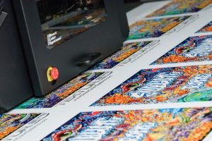 UV-84DTS Wide Format Printer high-quality color graphics